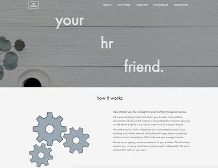 HR Website created by James Browning | Freelance Web Developer in Brighton