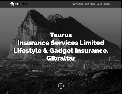 Insurance Provider Website created by James Browning | Freelance Web Developer in Brighton